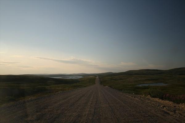 Пейзажи дороги на Териберку