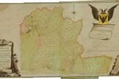 Троицкий уезд карта 1730г
