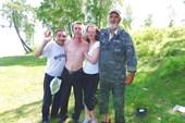 Лесогорск, местные жители.