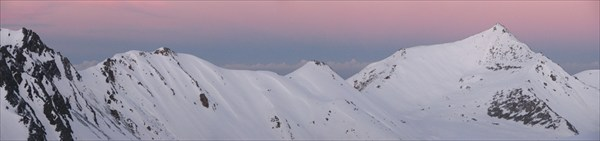 горы Арасан, утро