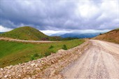 Дорога по плато