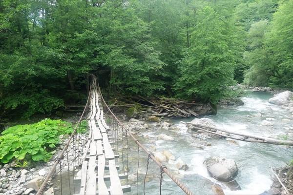 Переходный мост у Бабук-Аула