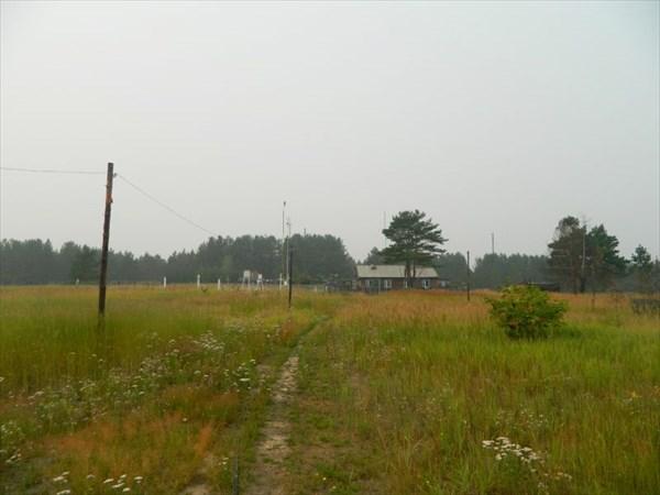 Метеостанция в Усть-Озерном.