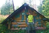 Изба в лесу возле г. Круглой
