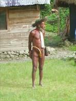 Поход к племени дани на острове Папуа-Новая Гвинея, Индонезия