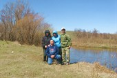 Река Урал за спиной