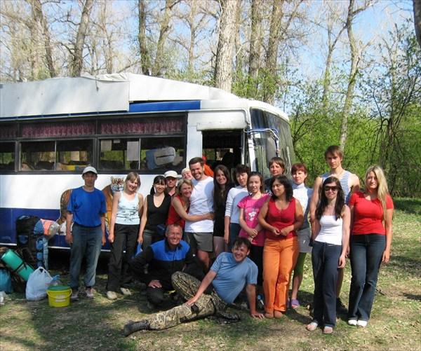 группа май 2010, домой, до встречи на реке!!!