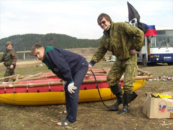 Егор надувает Егора