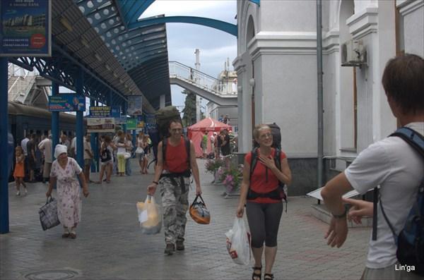 Севастополь.Ж/д вокзал