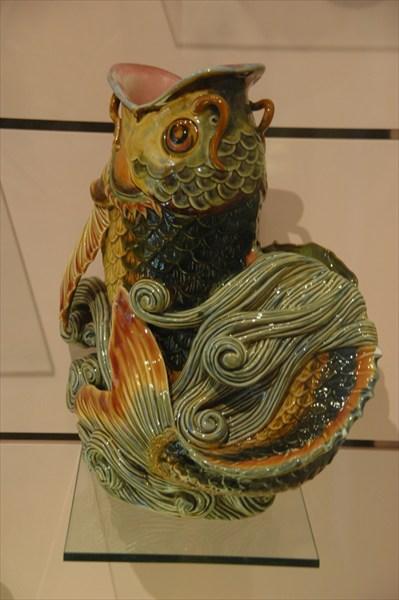 Экспонат музея керамики в Пече.
