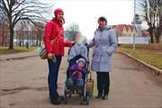 Потом поехали на День Селедки в Калининград