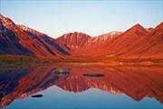 Озеро Балгыт ранним утром