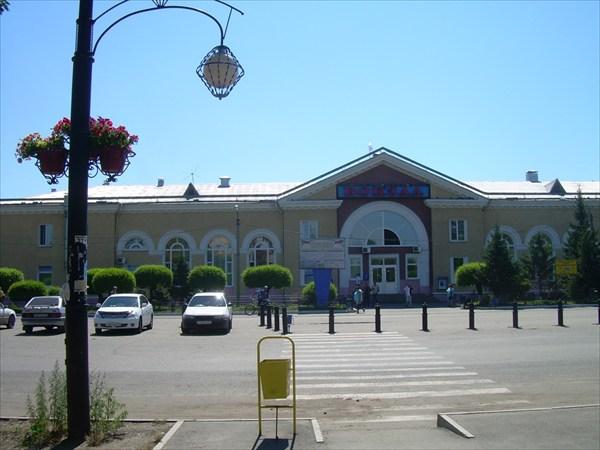 09. Вокзал в Абакане.