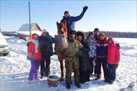 Лыжный поход на 5 озёр, Омская область, Муромцевский район