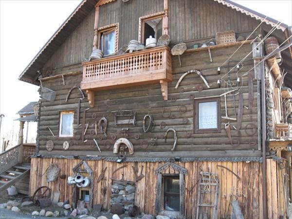 Музей-кафе рядом с р.Шуя