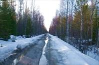 Весенняя дорога