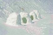 4 снежных домика