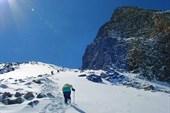 Подъём на перевал Мугувек