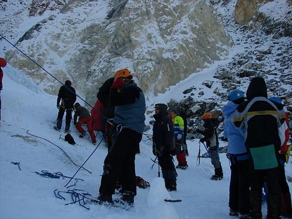 Тренировка на леднике