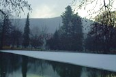 Озеро возле санатория `Карпаты`
