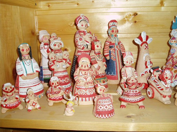 Глиняные куклы
