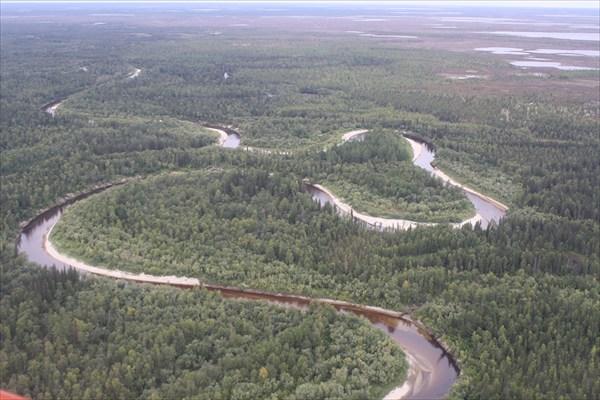 Река Варка-Сылькы