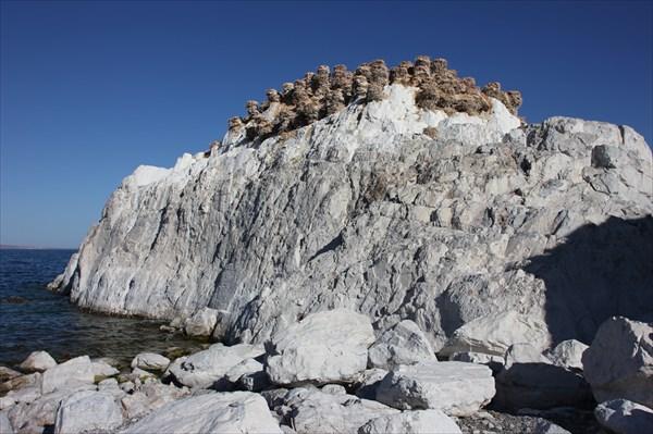 Озеро Хяргас Нуур, южный берег