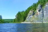 Река Улс приток Вишеры.