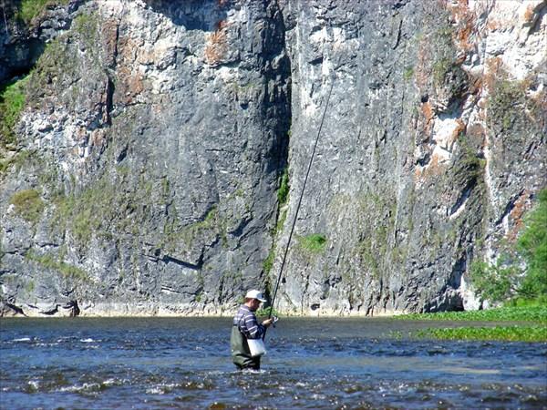 Рыбалка на речке Улс.