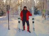 Идём по маршруту на лесных лыжах