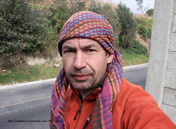 Автор в Гватемале