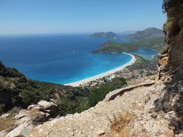 Вид на пляжи Олюдениз