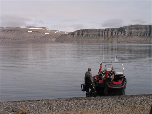 Высадка на берег