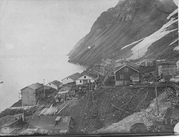 Грумант-Сити в 30-е годы прошлого столетия