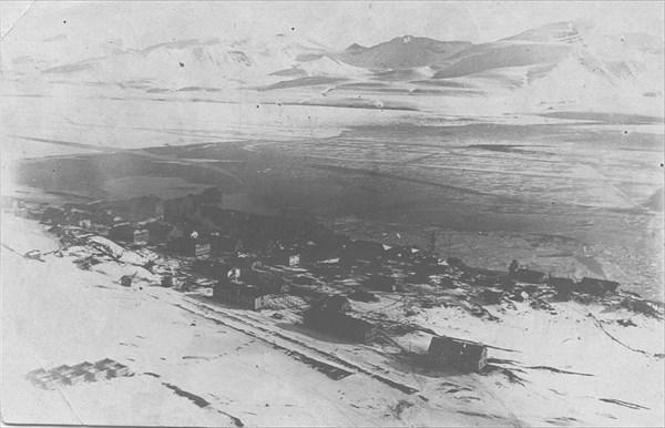 Баренцбург в 30-е годы прошлого столетия