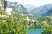 Что-то промышленное в пиренейских горах