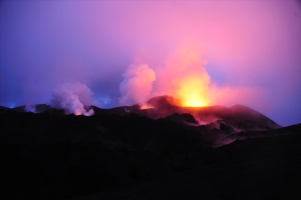 Огонь в тумане,Толбачик