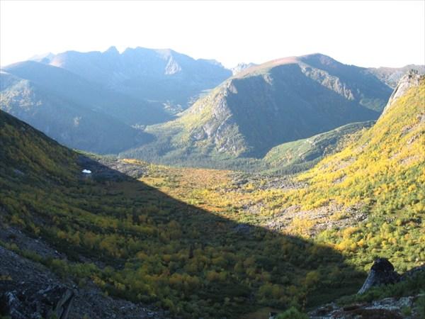 Осенний Дуссе-Алинь