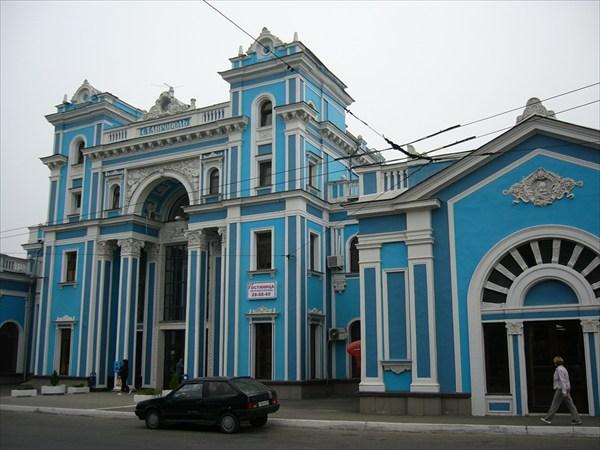 Жд вокзал Ставрополя