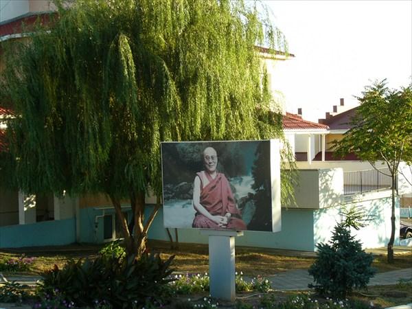 Далай лама XIV в Сити Чесс