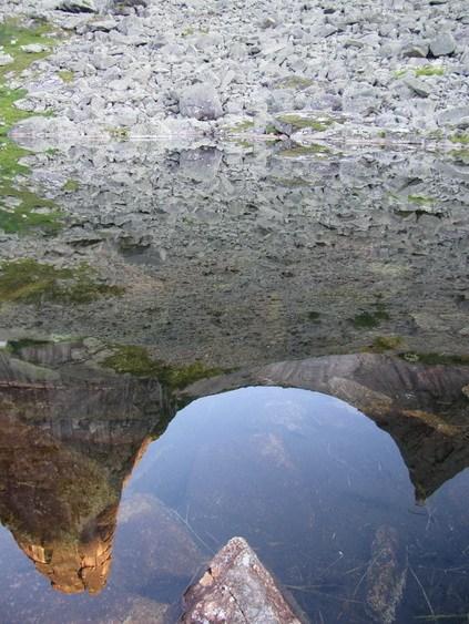 Парабола отражается в озере