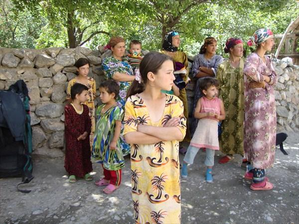 Жители кишлака Норват