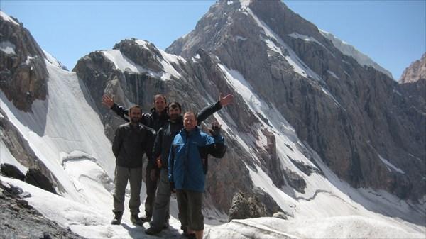 Перевал Двойной. 1Б. 4200 м.