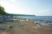 Ладожские пляжи в Заостровье