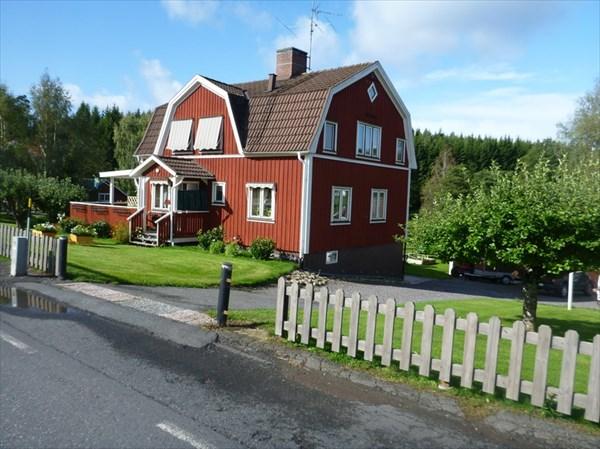 Типичный шведский дом.