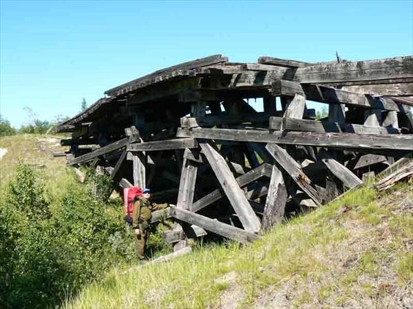 Один из первых мостов.