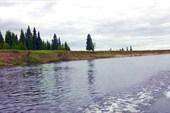 Река Цильма в районе села Филиппово