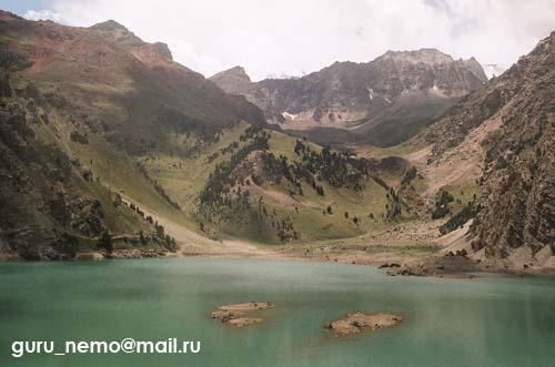 Озеро Кара-Куль-Катта