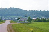 Вид на село Лаклы