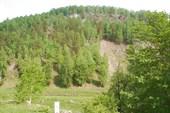 После села Лаклы